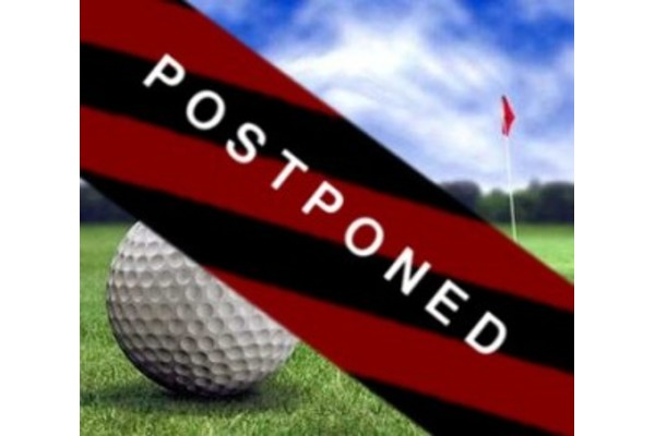 Golf Cup Postponed