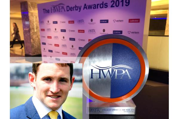 Kevin Blake wins major HWPA award!
