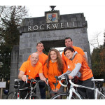 Rockwell College Hosts Cycle Against Suicide Peloton
