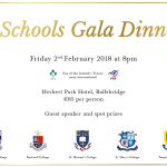Announcing the Spiritans Dinner 2018