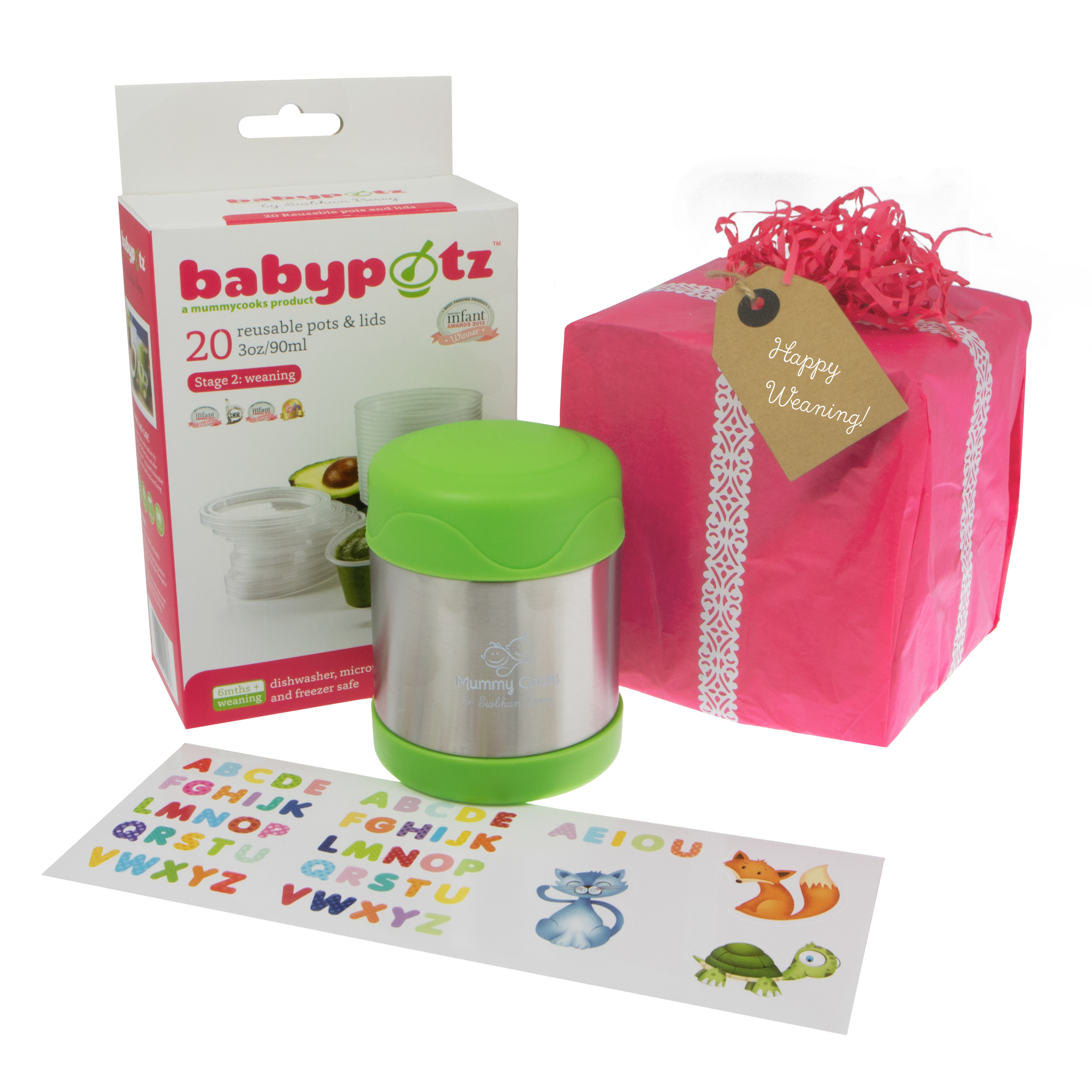Mummy Cooks: 6month+weaning gift set