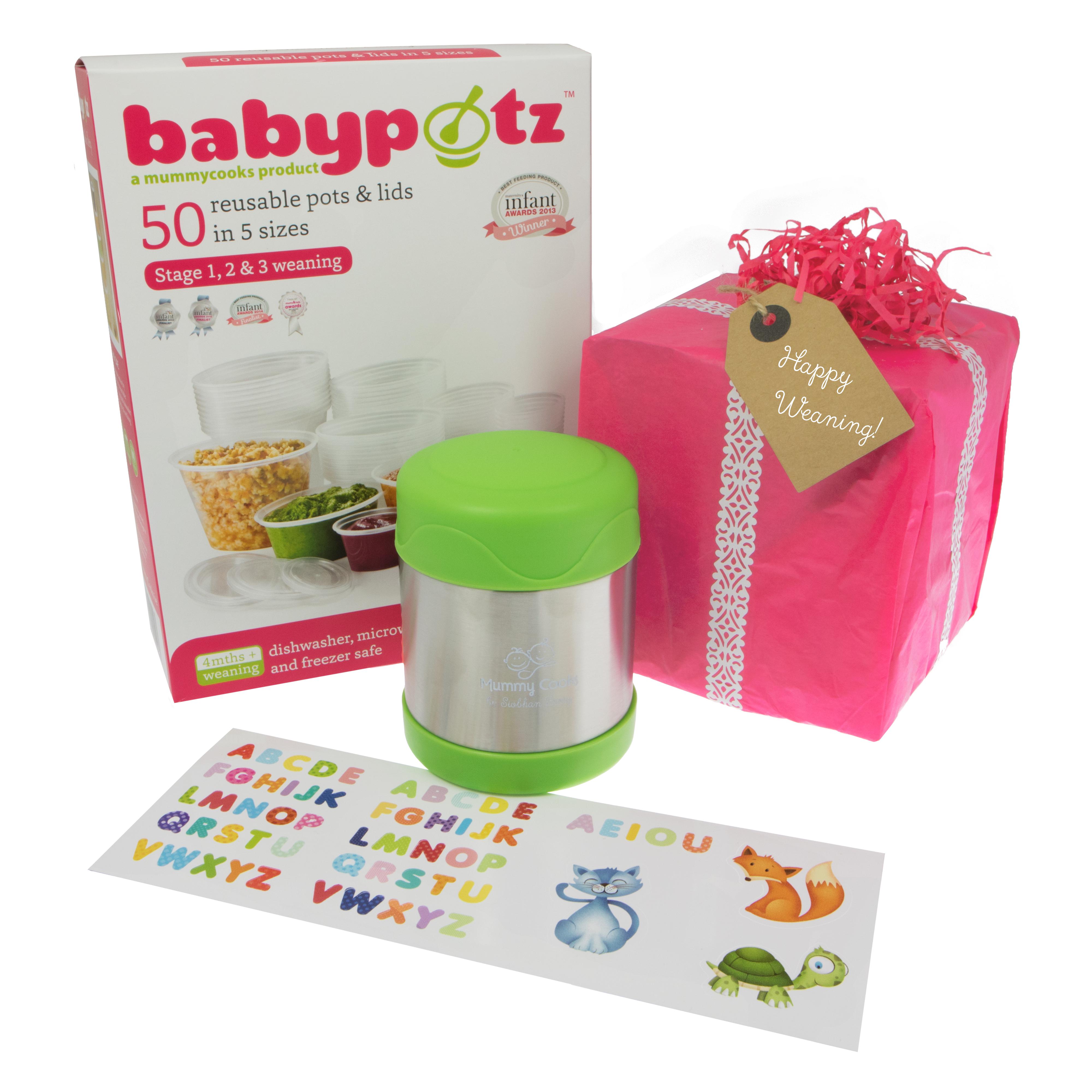 Mummy Cooks: Starter Weaning Gift Set