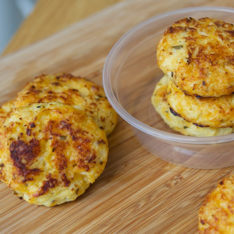 Mummy Cooks' Recipe: Cauliflower & Cheese Bites