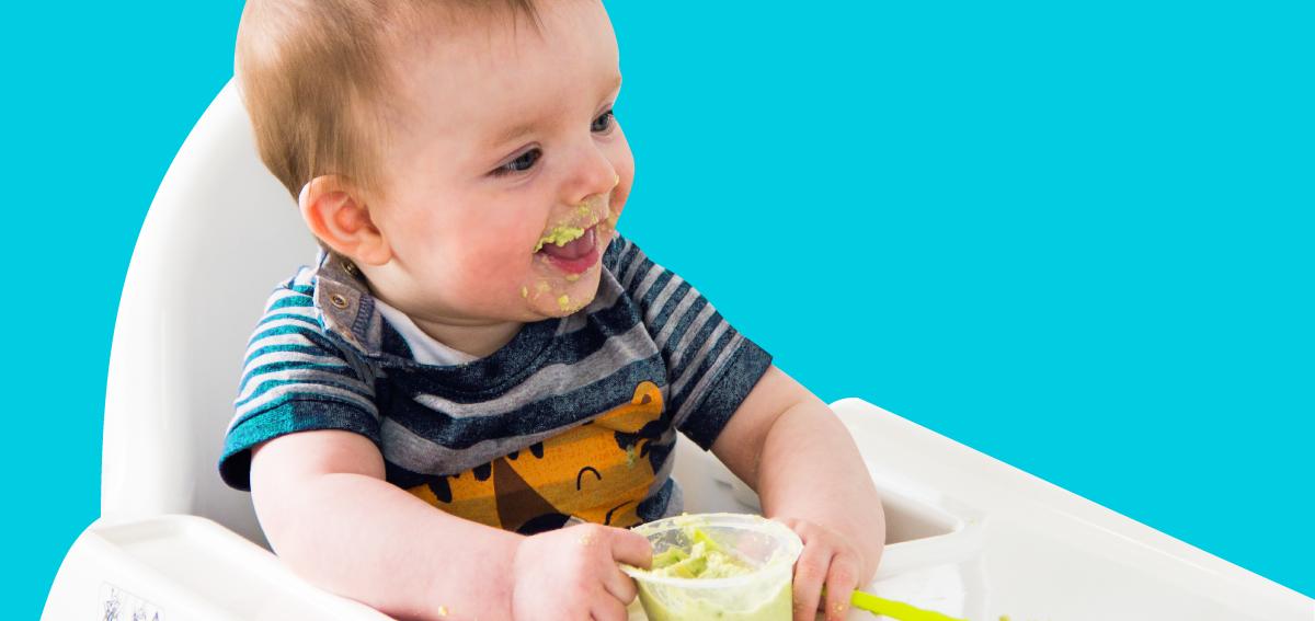 Mummy Cooks: Feeding Baby 6 to 12 months