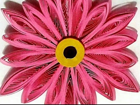 Simple 3D Quilling Flower | How to make a Quilling Bouquet part - II