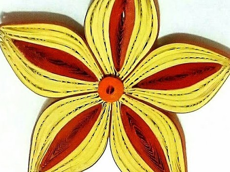 Multi-color 3D Quilling Flower | How to make a Quilling Bouquet part - VI