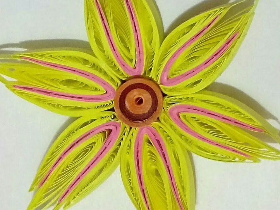 Multi-color 3D Quilling Flower | How to make a Quilling Bouquet part - V
