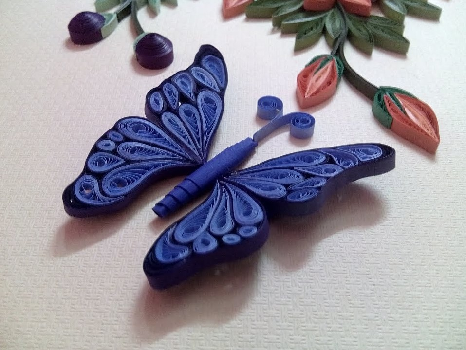 How to make Quilling Butterfly | Quilling Butterfly Tutorial