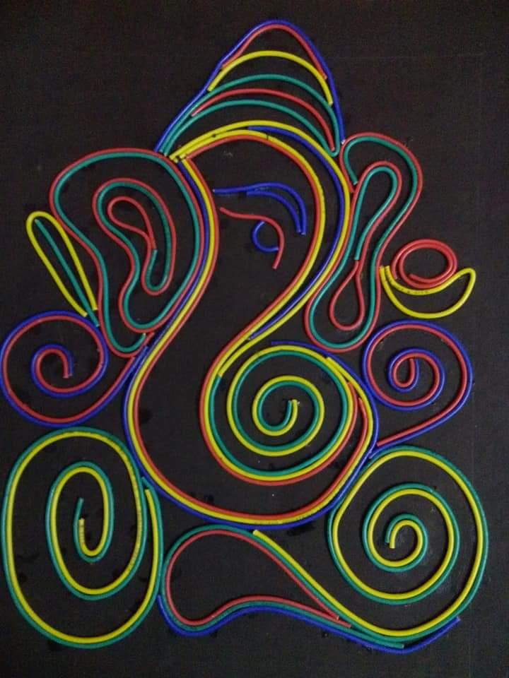 Wire Ganesha