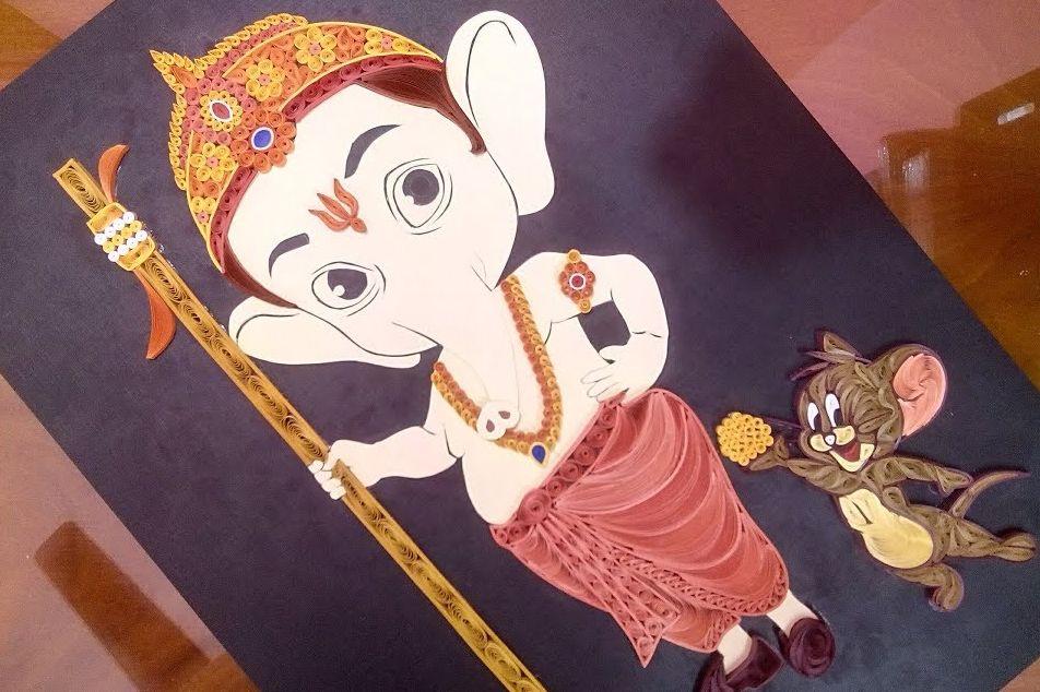 Quilling Ganesha Tutorial | Ganesh Chaturthi Special