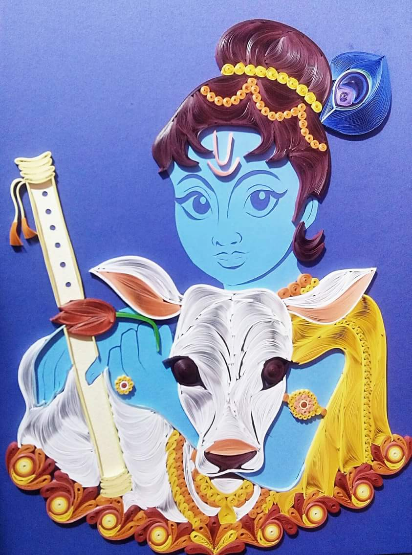 Quilling Gopala