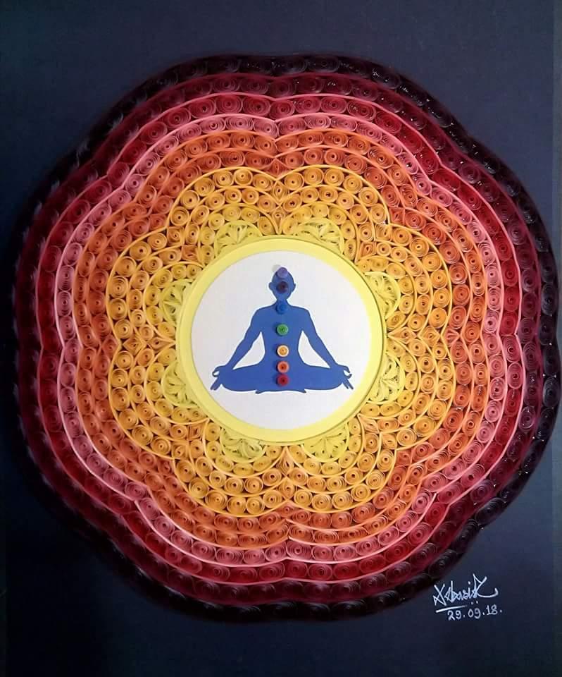 Quilling Meditation