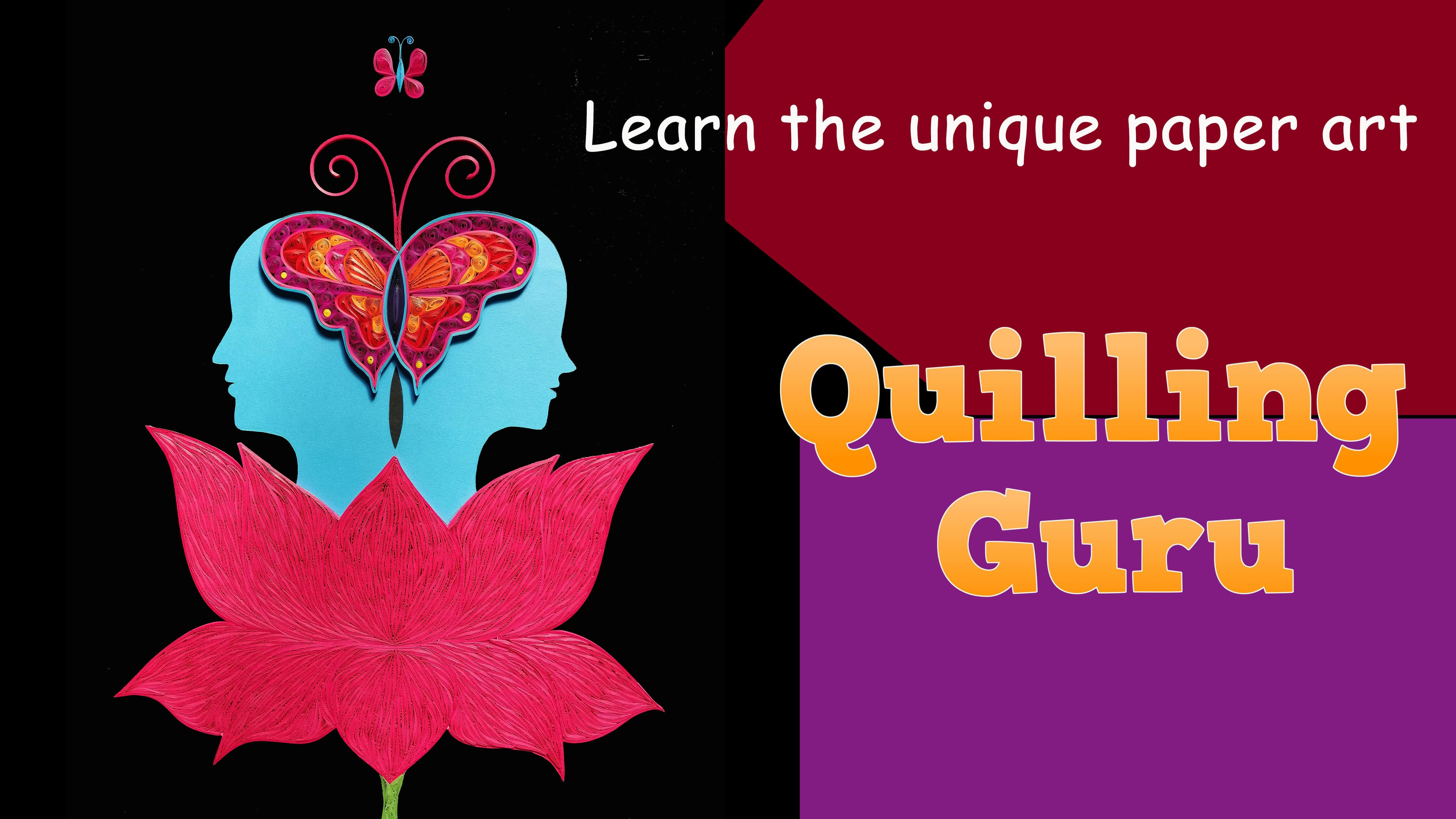 Harmony | Learn how to do Abstract Quilling