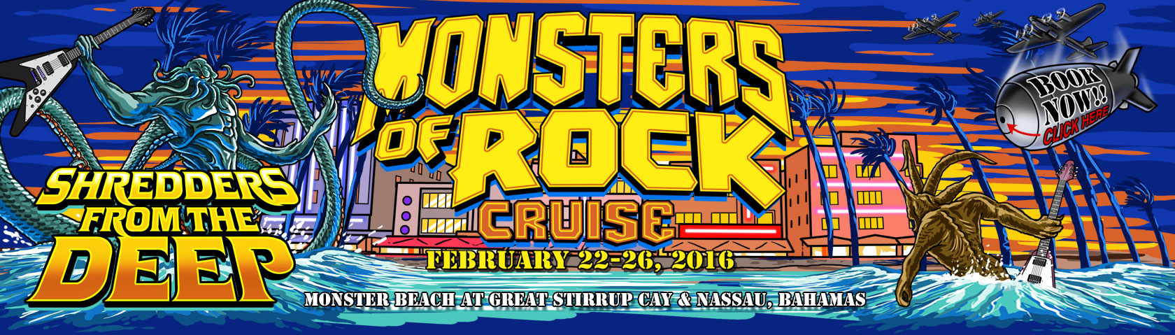 Monsters of Rock Cruise 2016, United States