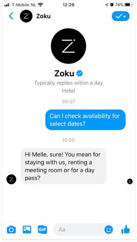 Zoku Social25 voorbeeld