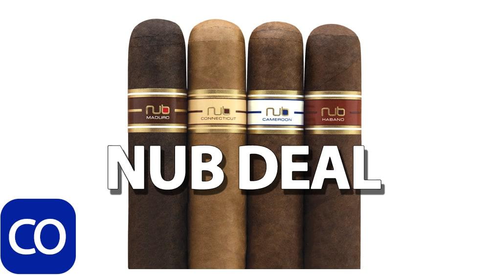 NUB Stub Club Cigar Sampler Deal Featured Image