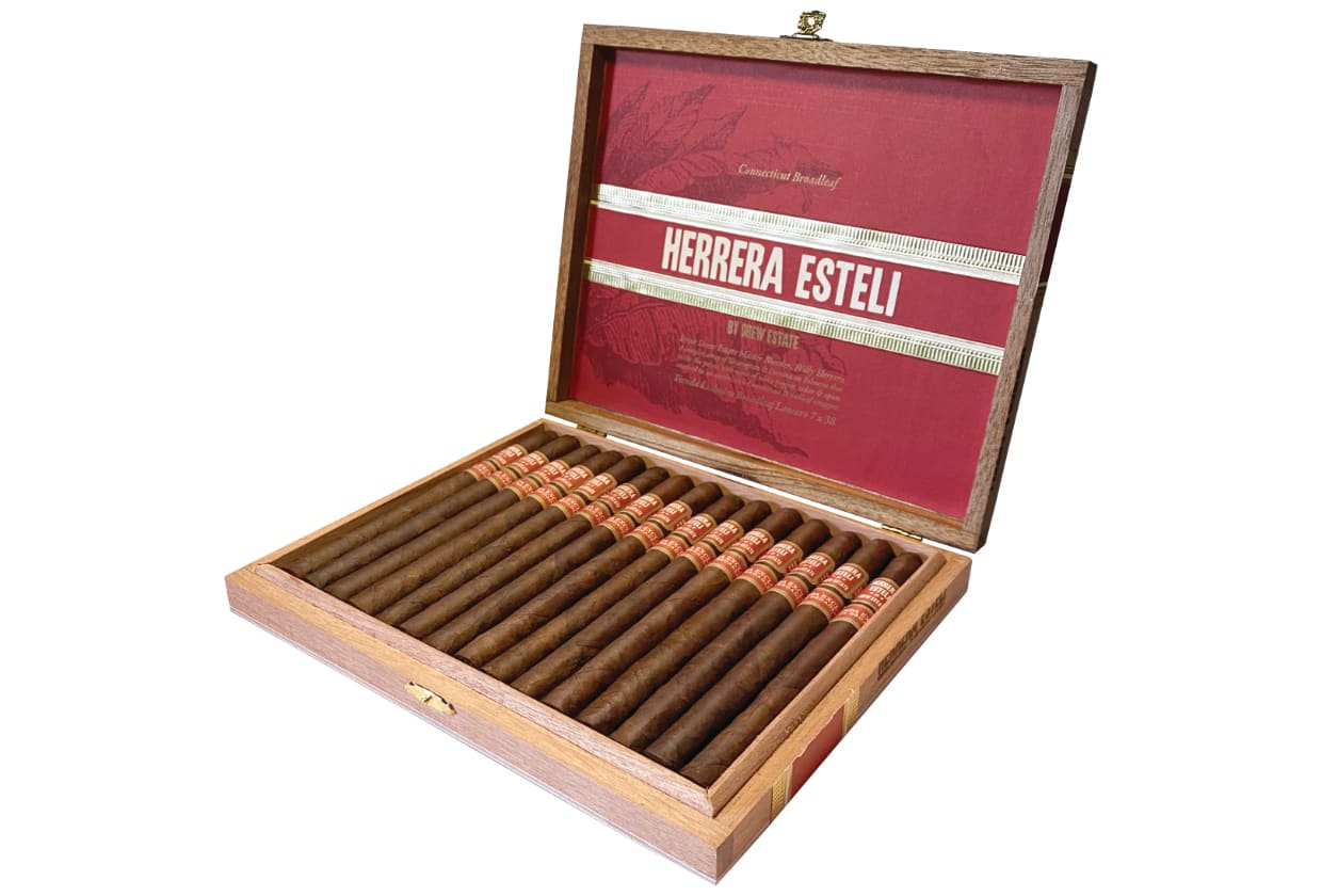 Herrera Esteli Connecticut Broadleaf Lancero Tienda Exclusiva Planned for September Featured Image