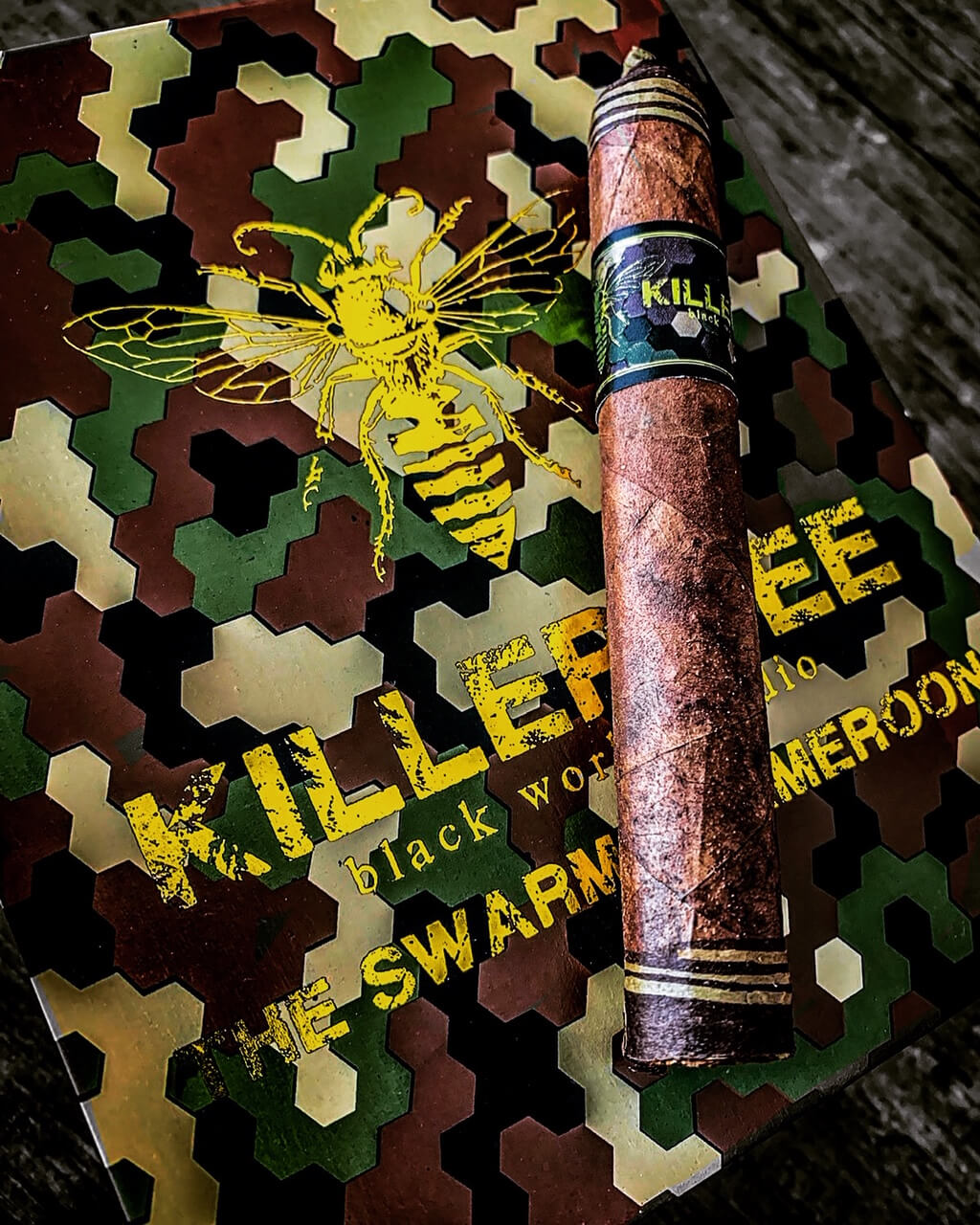 "Cigar News: Black Works Studio Announces Killer Bee ""SWARM"" Featured Image"