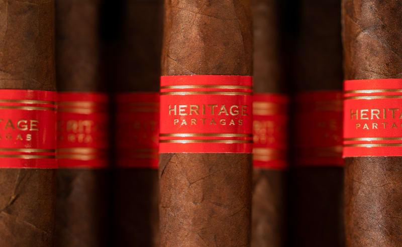 Partagas Heritage header asset