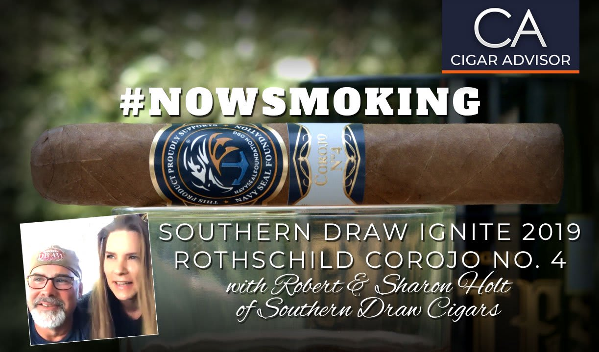#nowsmoking: Southern Draw Ignite 2019 Rothschild Corojo No.4 Featured Image