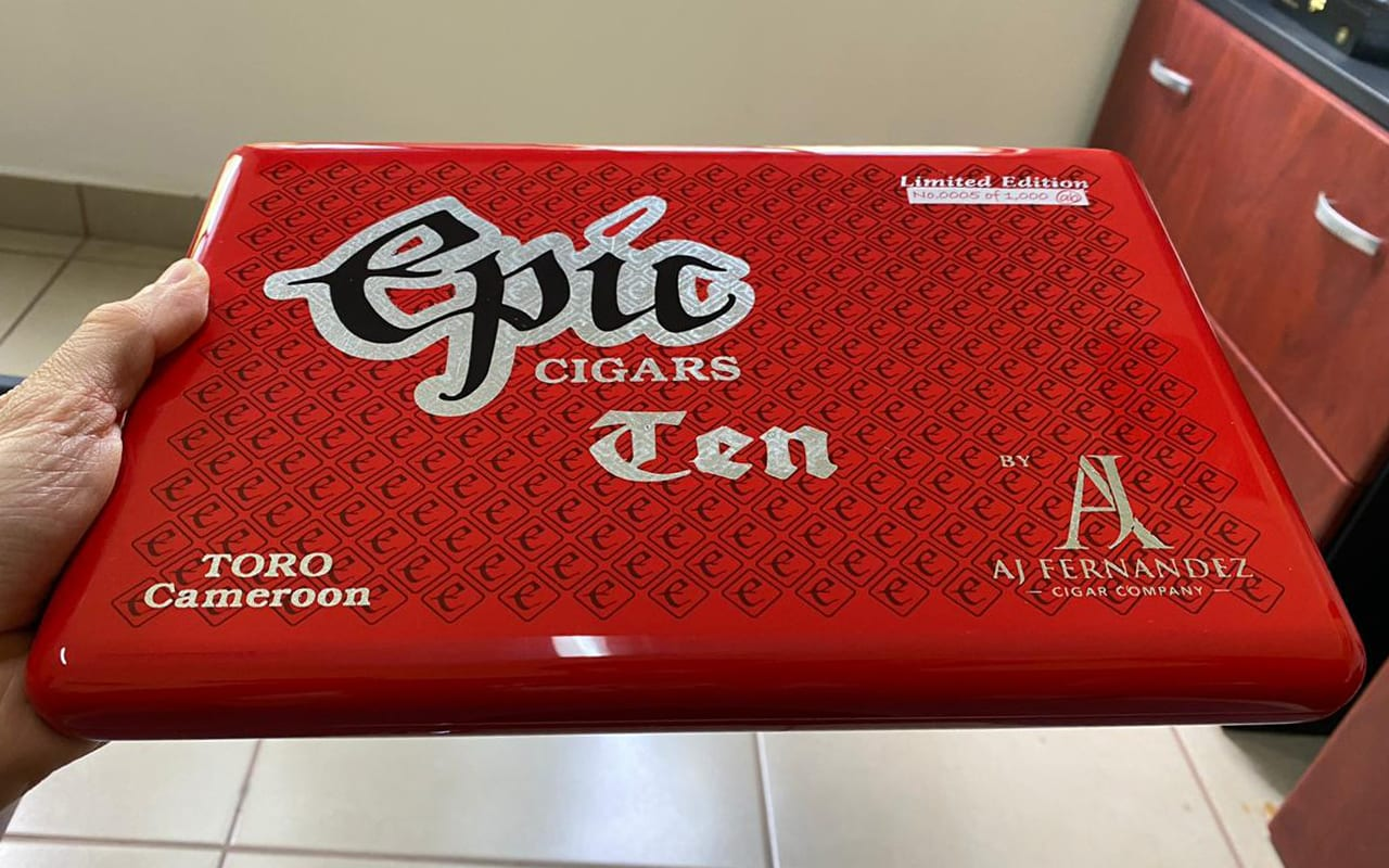 Epic Cigars to Celebrate Tenth Anniversary with EPIC TEN Featured Image