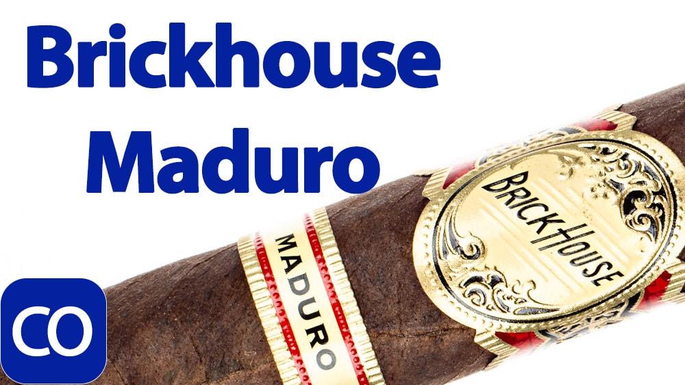 J.C. Newman Brick House Maduro Toro Cigar Review Featured Image