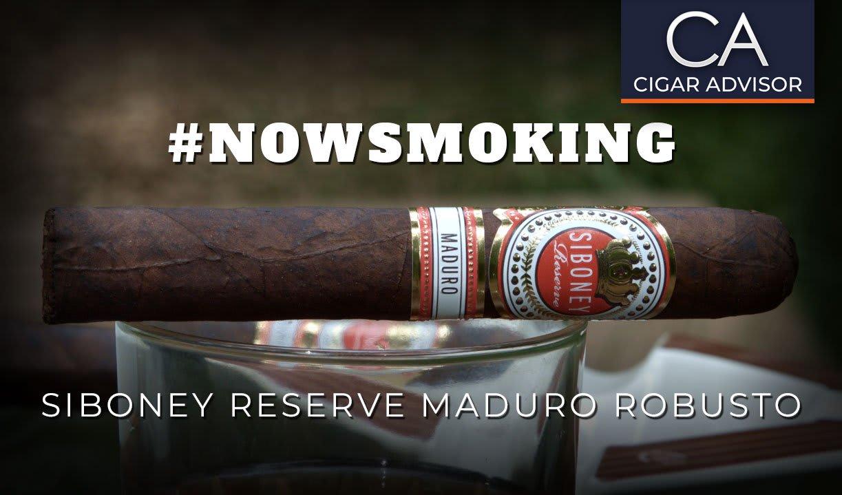 #nowsmoking: Siboney Reserve Maduro Robusto by Aganorsa Leaf Featured Image