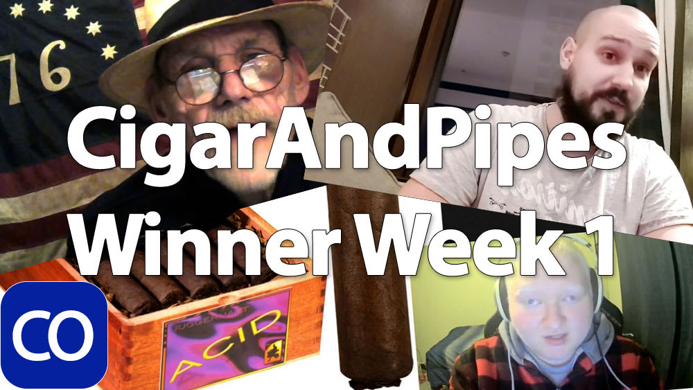 CigarAndPipes Holiday Winner Week 1 Featured Image