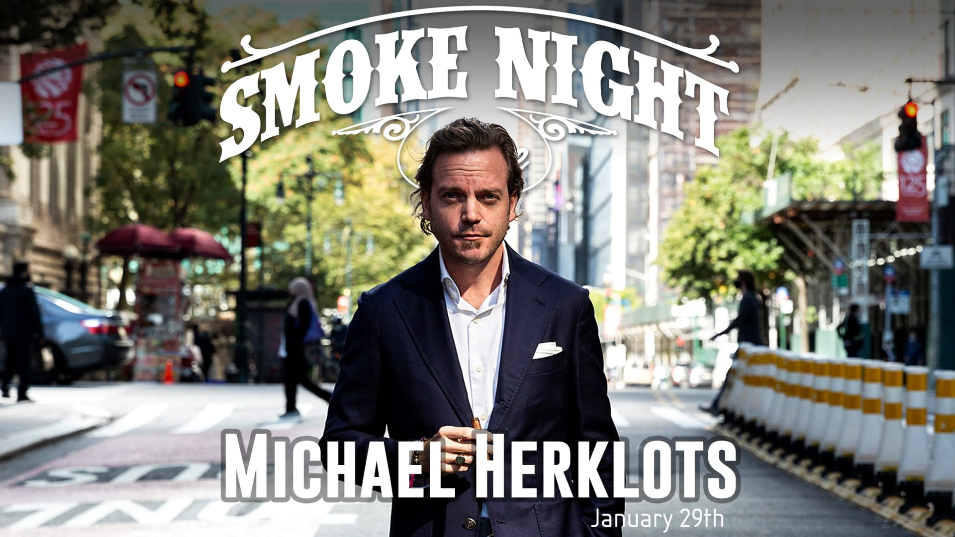 Smoke Night LIVE – with Michael Herklots Featured Image