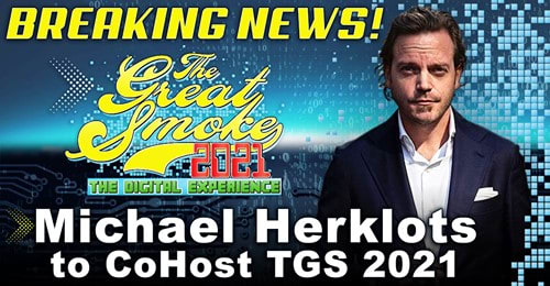 Michael Herklots to Co-Host Digital Version of The Great Smoke Featured Image