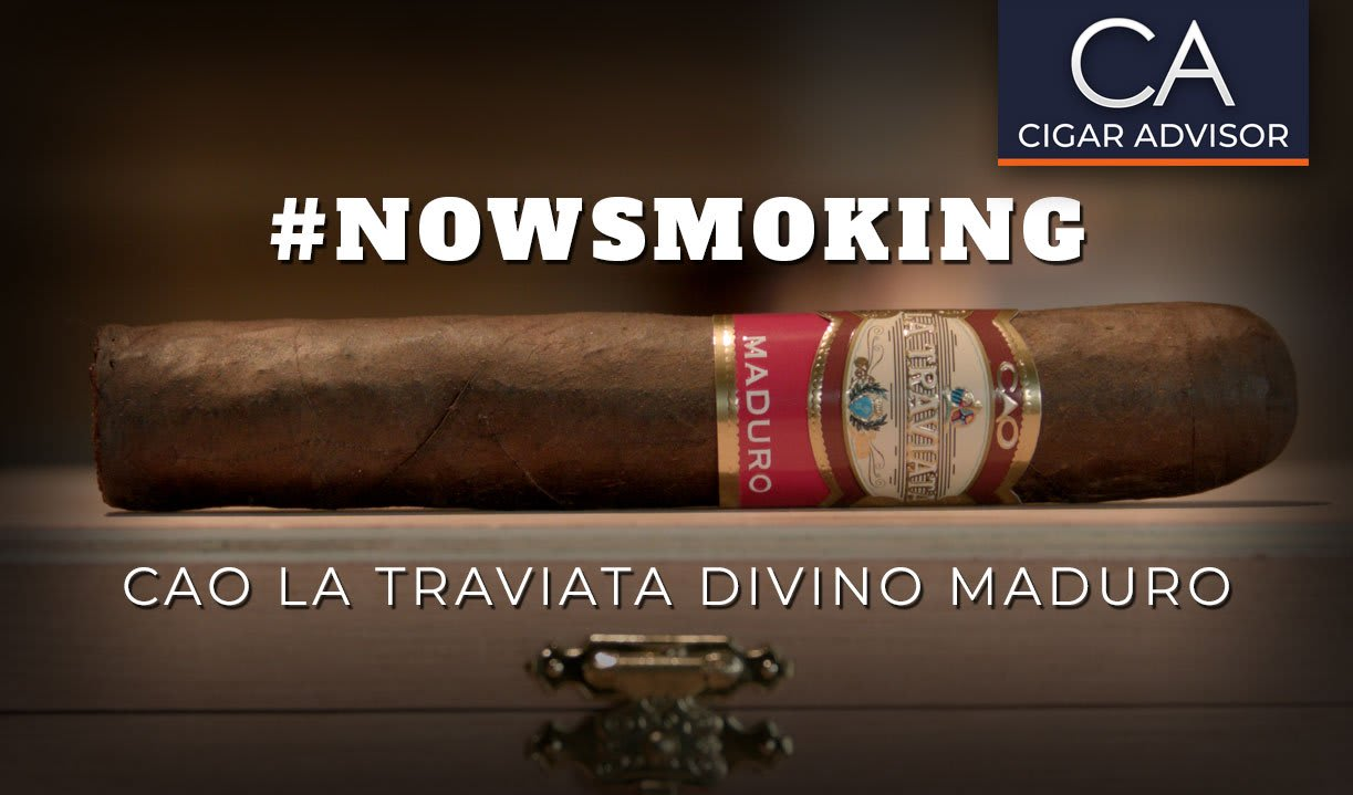 #nowsmoking: CAO La Traviata Divino Maduro Featured Image