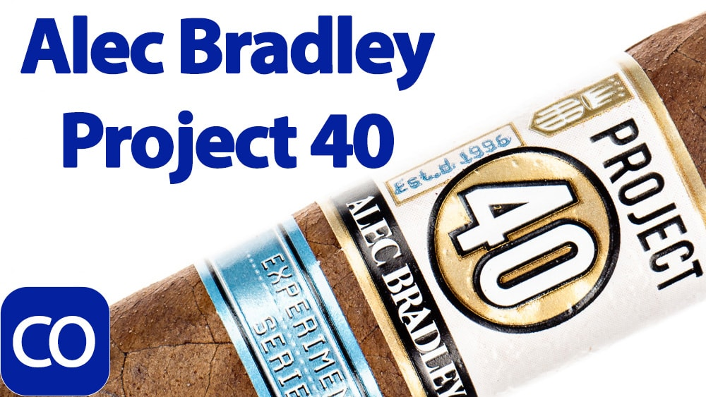 Alec Bradley Experimental Series Project 40 Robusto Cigar Review Featured Image
