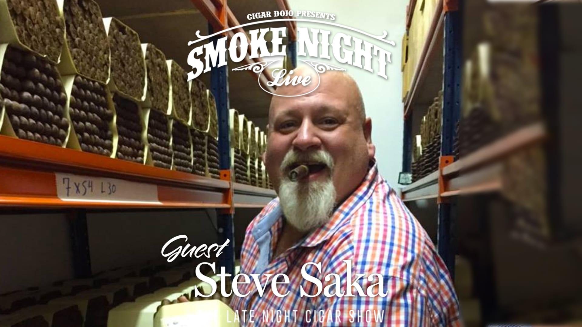 Smoke Night LIVE with Steve Saka Featured Image