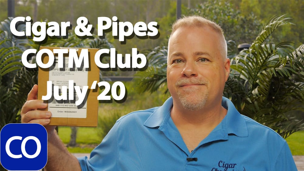 CigarAndPipes July 2020 Cigar Of The Month Club Featured Image