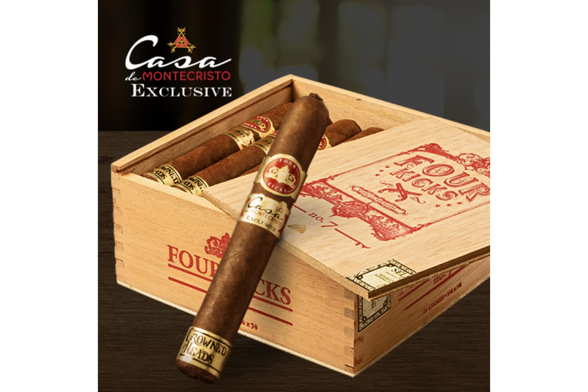 Crowned Heads Sends Four Kicks No. 7 to Casa de Montecristo Stories Featured Image
