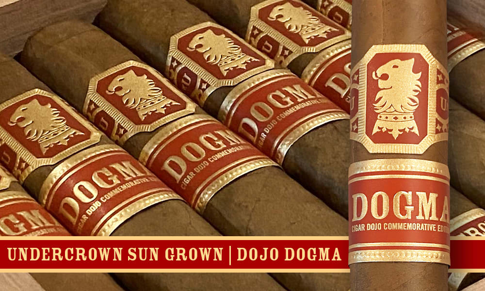 Cigar News: Drew Estate Announces Undercrown Dojo Dogma Sun Grown Featured Image