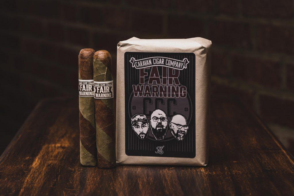 Caravan Cigar Company Introduces Fair Warning Featured Image