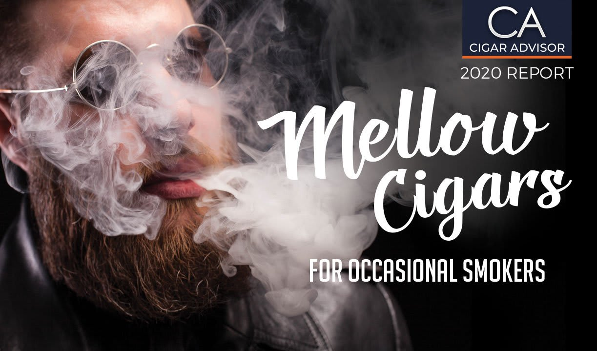 2020 CA Report: 10 Top Mellow Cigars for Occasional Smokers Featured Image