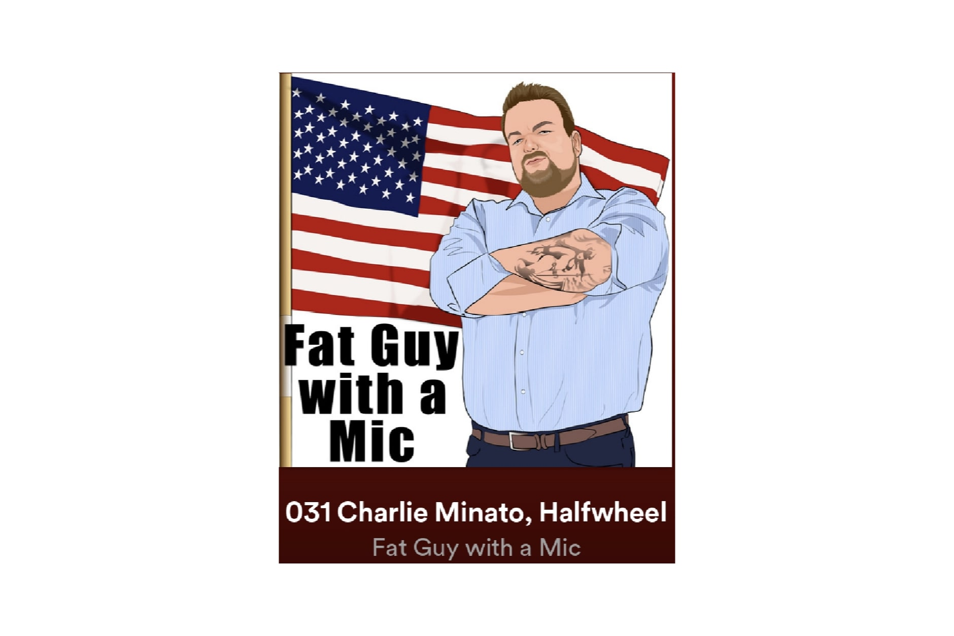 Listen: Charlie Minato on Fat Guy with a Mic Podcast Featured Image