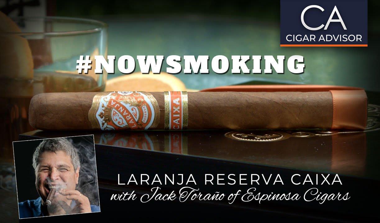 #nowsmoking: Espinosa Laranja Reserva Caixa Featured Image