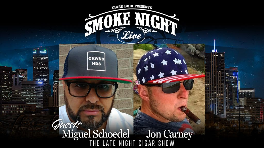 Smoke Night LIVE with Miguel Schoedel & Jon Carney Featured Image