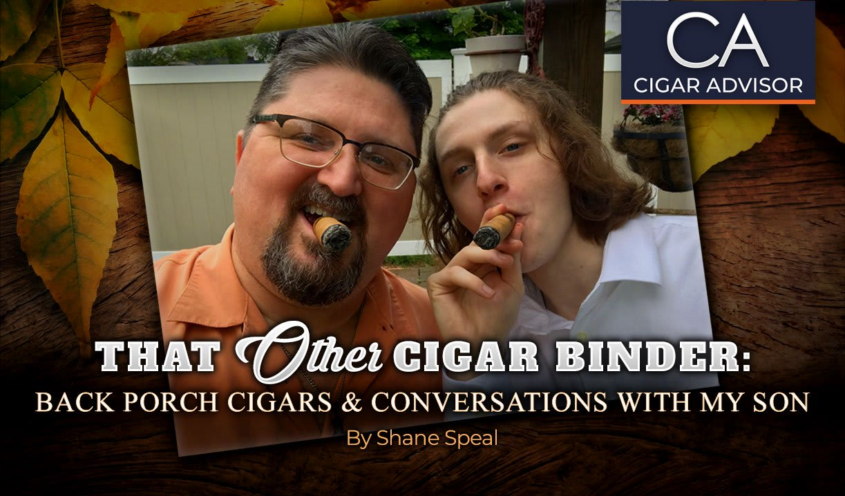 That Other Cigar Binder: Back Porch Cigars & Conversations with My Son Featured Image