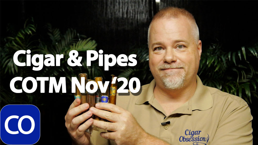 CigarAndPipes November Cigar Of The Month Club Featured Image