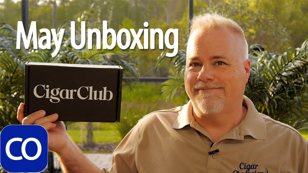 Cigarclub.com May Cigar of the Month Club Unboxing Featured Image