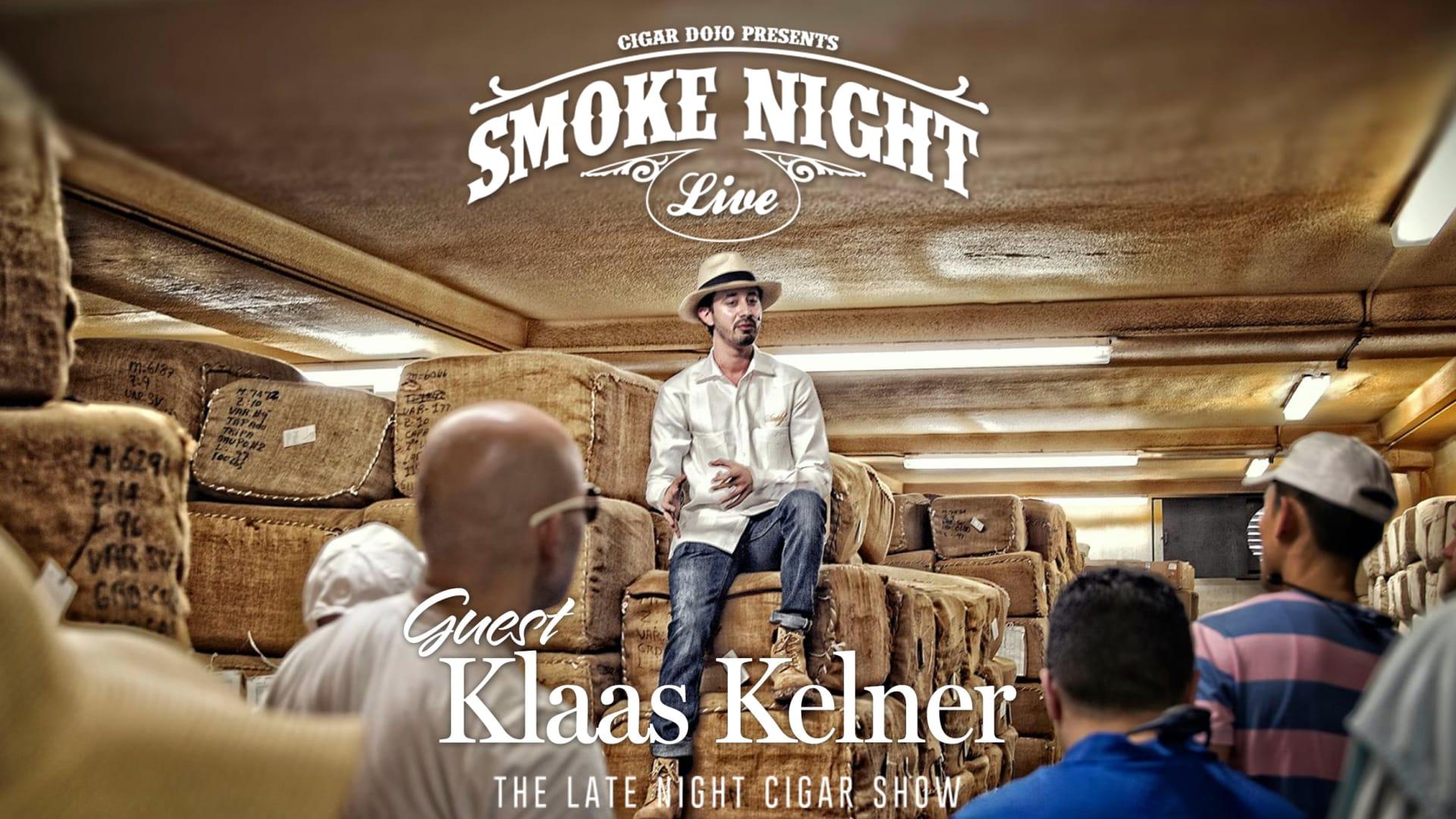 Smoke Night LIVE with Davidoff's Klaas Kelner Featured Image