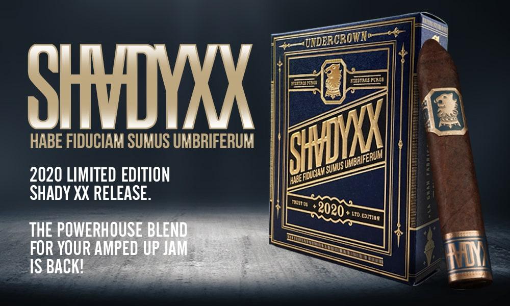 Cigar News: Drew Estate Annouces Undercrown ShadyXX Return for 2020 Featured Image
