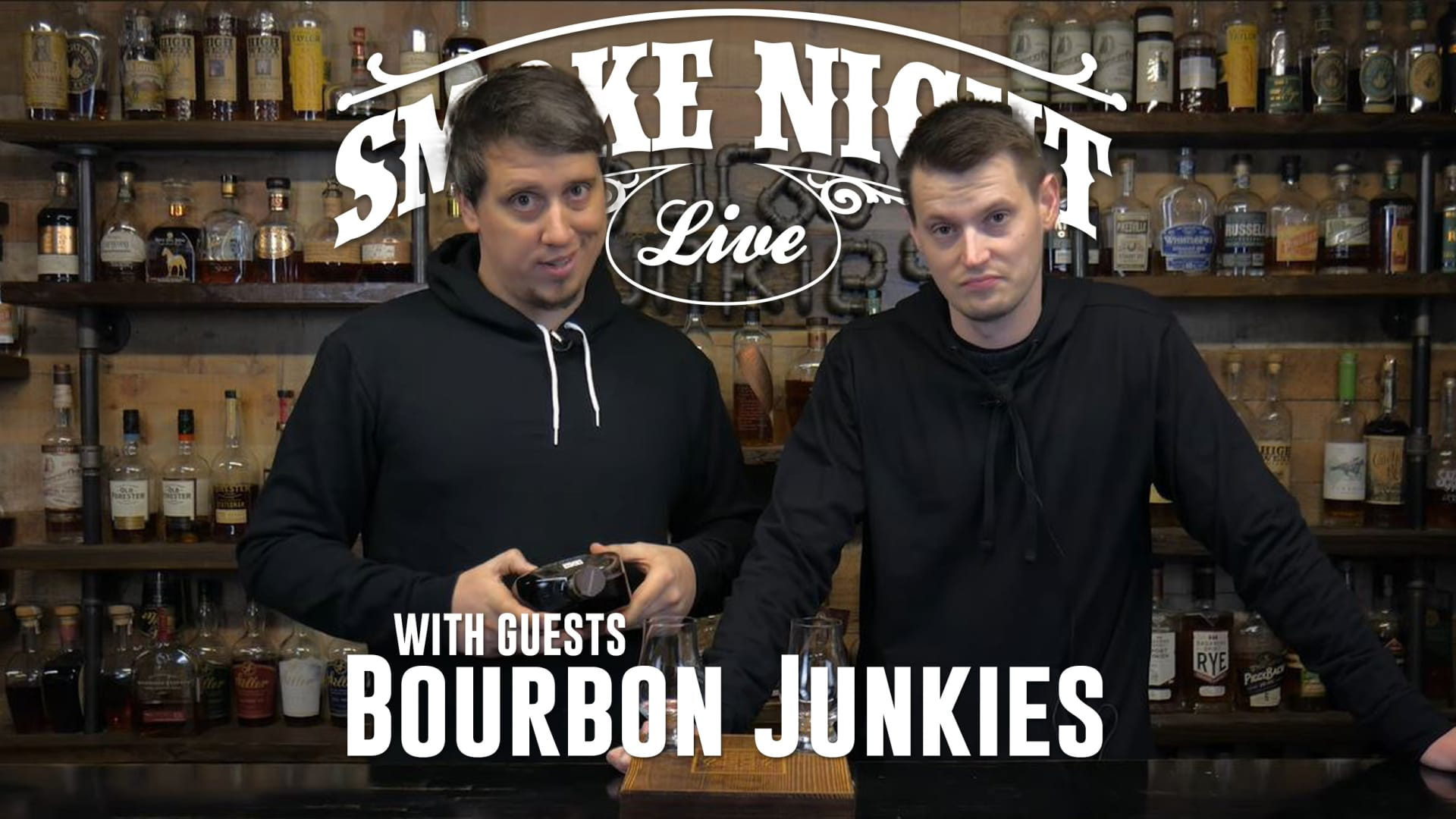 Smoke Night LIVE with the Bourbon Junkies Featured Image