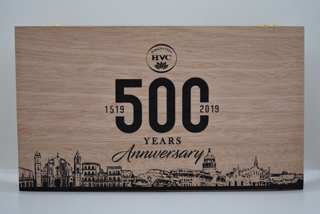 Cigar News: HVC Adds Two New Vitolas to 500th Anniversary Featured Image