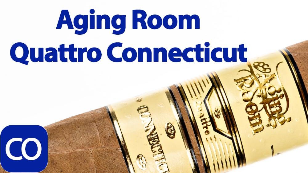Aging Room Quattro Connecticut Vibrato Cigar Review Featured Image