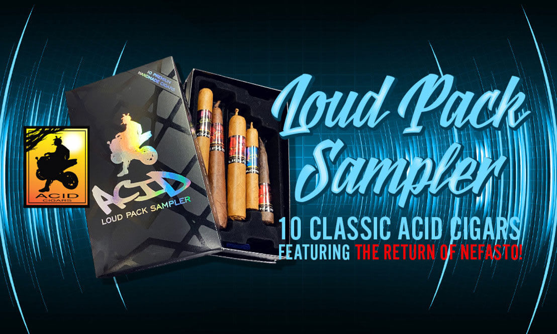 Cigar News: Drew Estate Introduces Two New ACID Samplers Featured Image